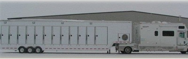 12 Head Shower Trailers