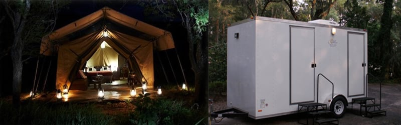 2 Stall Shower Trailers