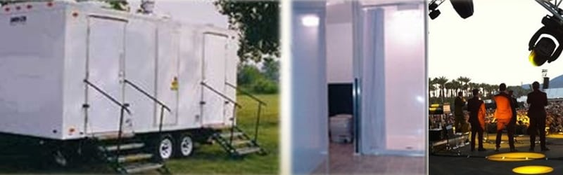 4 Head Shower Trailers