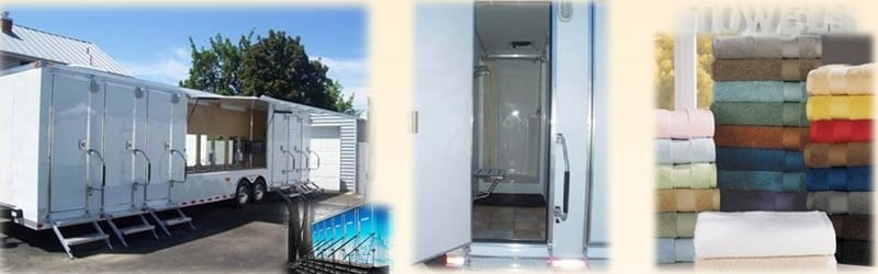 6 Head Shower Trailers