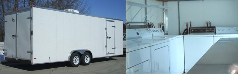 Mobile Laundry Trailer